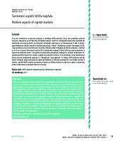 prikaz prve stranice dokumenta Suvremeni aspekti tržišta kapitala