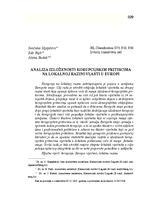 prikaz prve stranice dokumenta ANALIZA IZLOŽENOSTI KORUPCIJSKIM PRITISCIMA NA LOKALNOJ RAZINI VLASTI U EUROPI