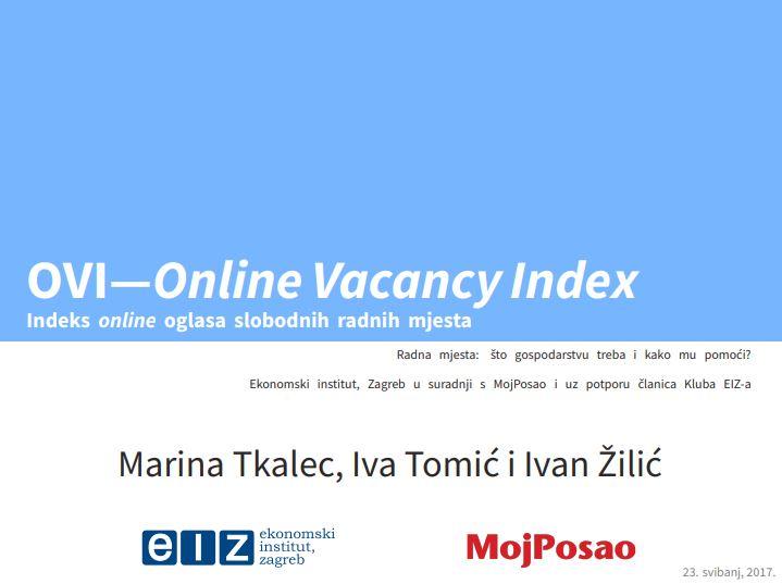 prikaz prve stranice dokumenta Internetski indeks slobodnih radnih mjesta