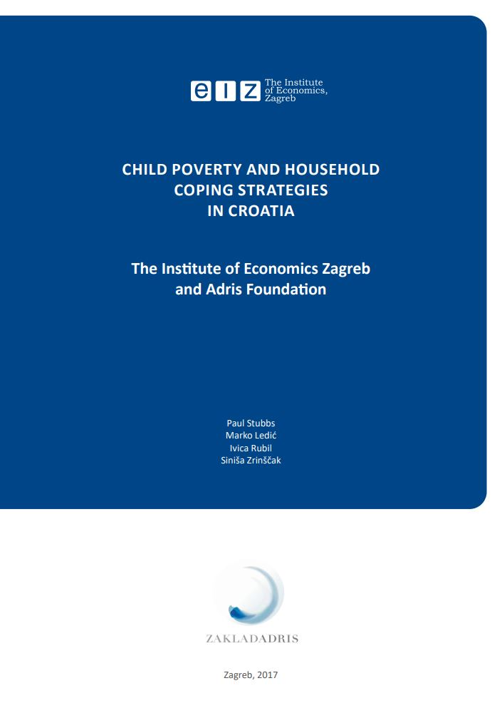 Child poverty and household coping strategies in Croatia