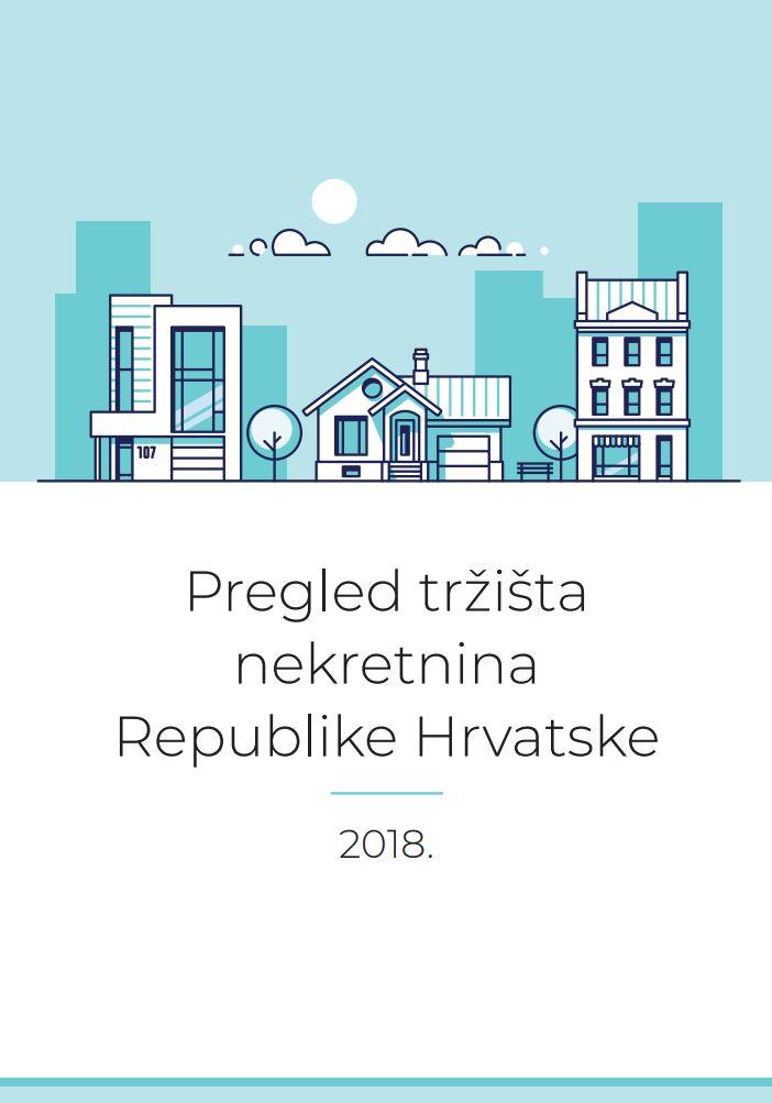prikaz prve stranice dokumenta Pregled tržišta nekretnina Republike Hrvatske : 2018