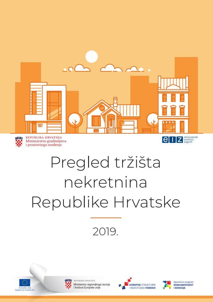 prikaz prve stranice dokumenta Pregled tržišta nekretnina Republike Hrvatske : 2019