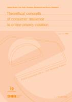 Theoretical concepts of consumer resilience to online privacy violation : Radni materijali EIZ-a = EIZ Working papers