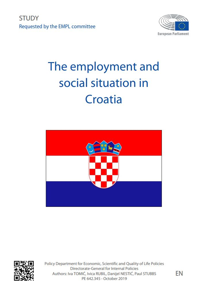 prikaz prve stranice dokumenta The employment and social situation in Croatia